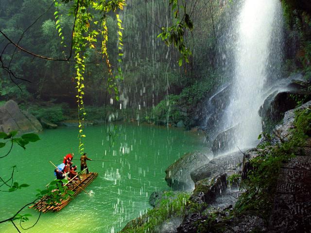 万竹之园,小家碧玉——赤水四洞沟景区