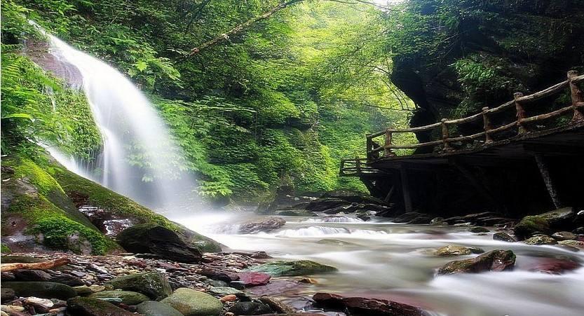 天然氧吧——亚木沟风景区