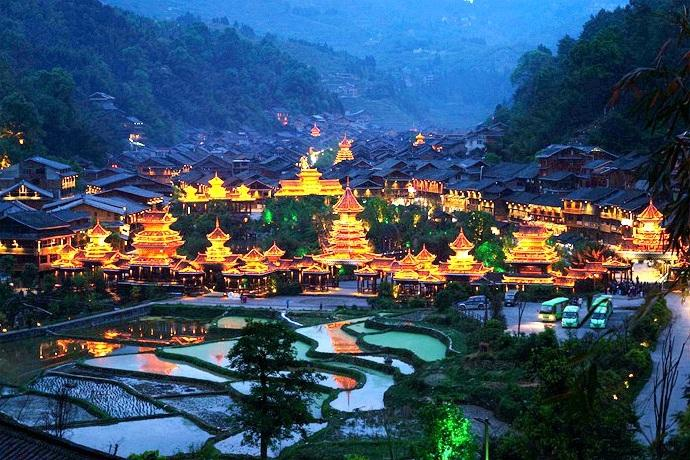 堂安侗寨_民俗+自然景观一起看